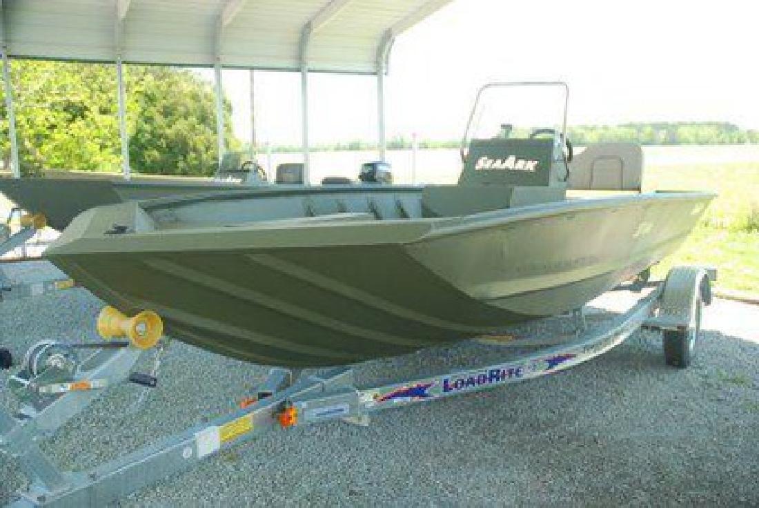 $15,849 2009 SeaArk CC (New with Yamaha Four-stroke)