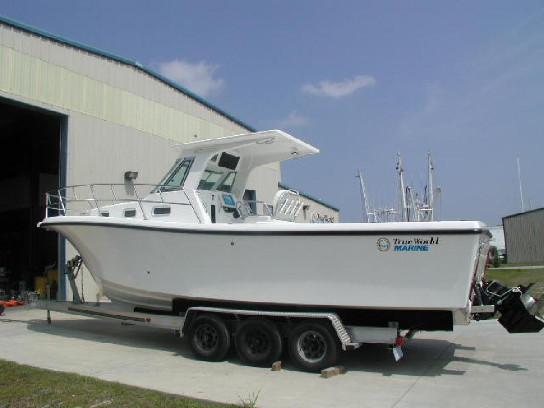 2009 28' True World Marine TE288