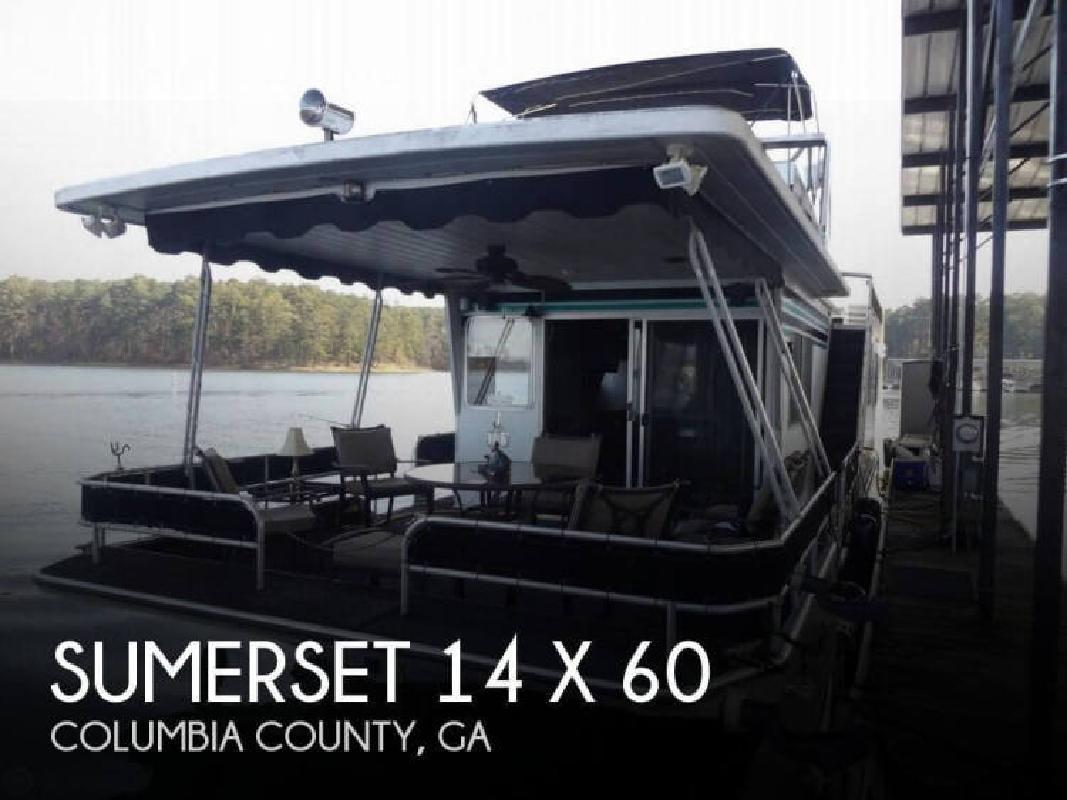 1987 Sumerset Houseboats 14 x 60 Appling GA