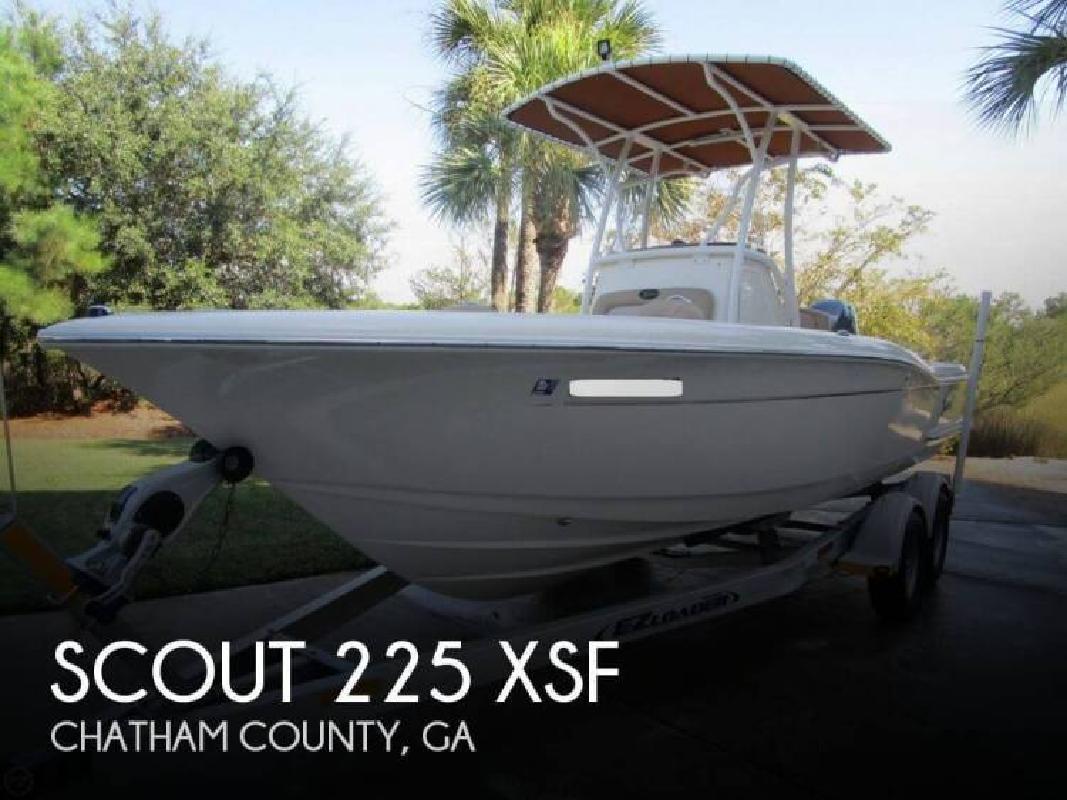 2014 Scout Boats 225 XSF Savannah GA