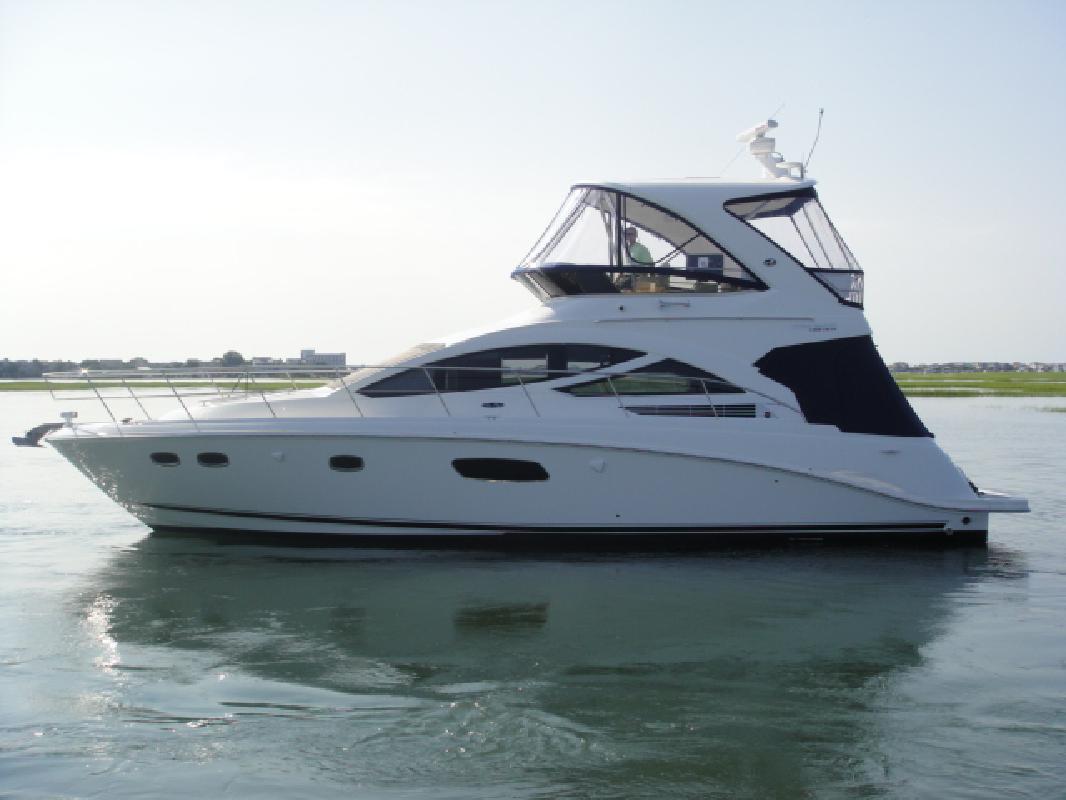 2012 45' Sea Ray Sport Yacht 450 Sedan Bridge for sale in