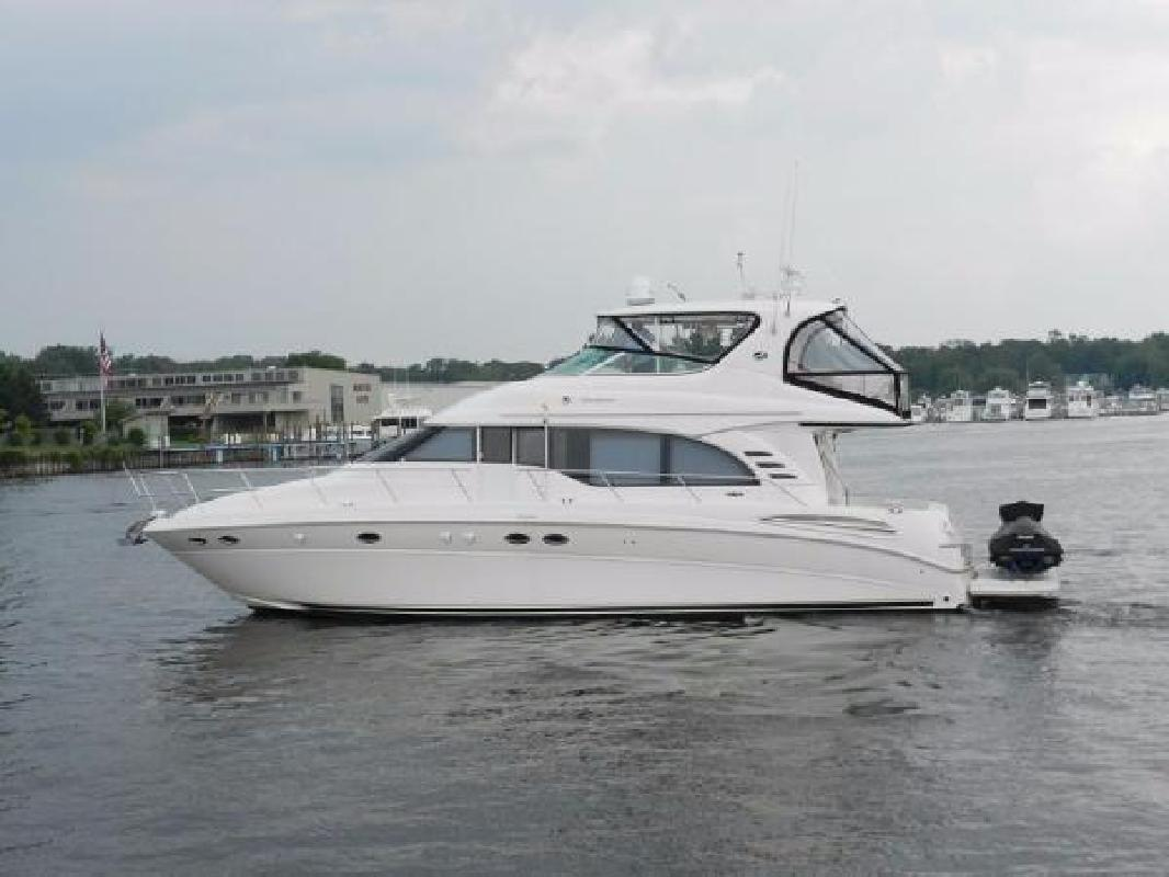 2001 Sea Ray 540 Cockpit Motor Yacht Palm Beach Gardens FL