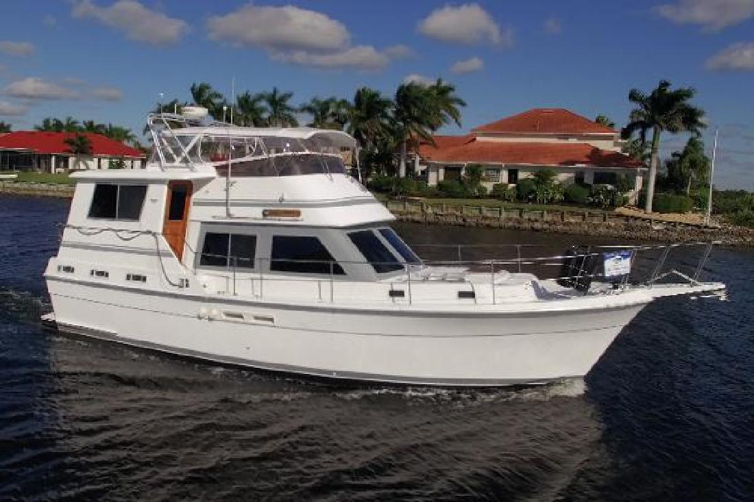 1986 Gulfstar 44 Motor Yacht Palmetto FL
