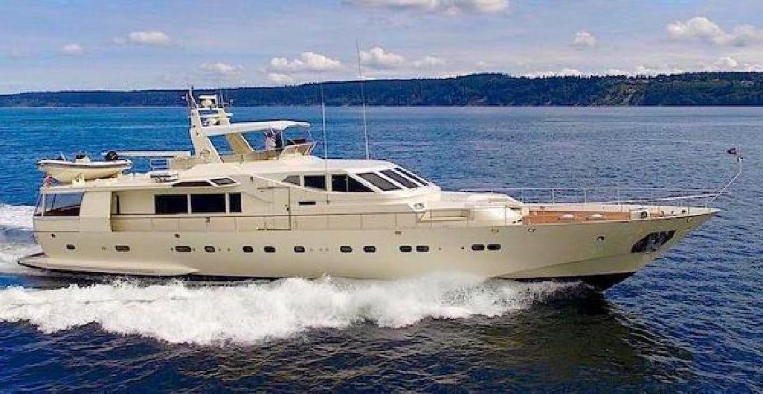 1986 Azimut 105 Motor Yacht Seattle WA