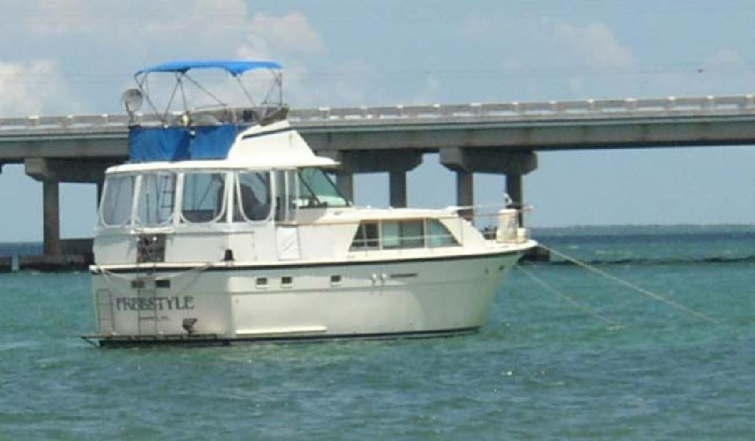 1976 43' Hatteras Yachts 43 DCMY in Tampa, Florida