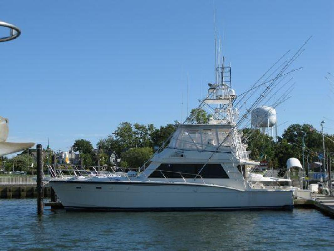1985 52' Hatteras Yachts 52 Convertible