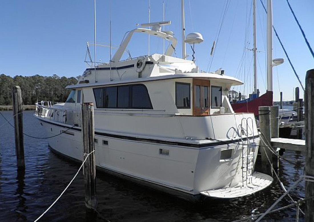1985 53' Hatteras Yachts 53 MY