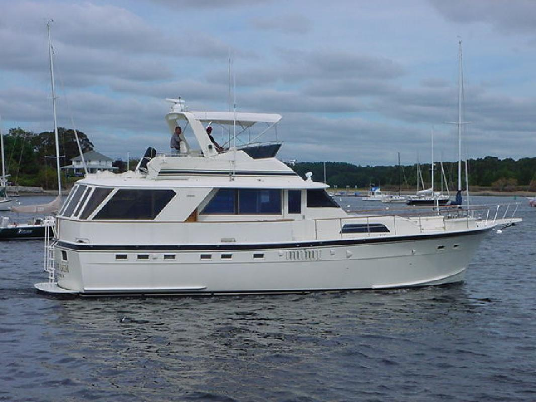 1978 53 39 Hatteras Yachts 53 My For Sale In Wickford Rhode
