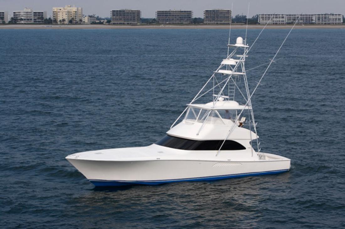 2012 57' Viking Yachts Convertible