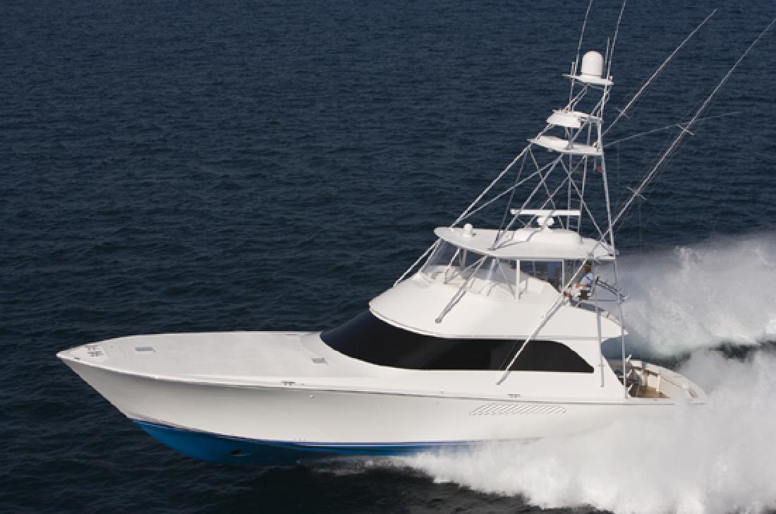 2012 64' Viking Yachts Convertible