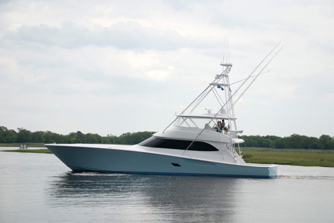 2012 82' Viking Yachts Convertible
