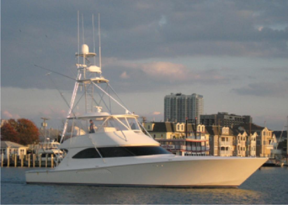 2012 60' Viking Yachts Convertible