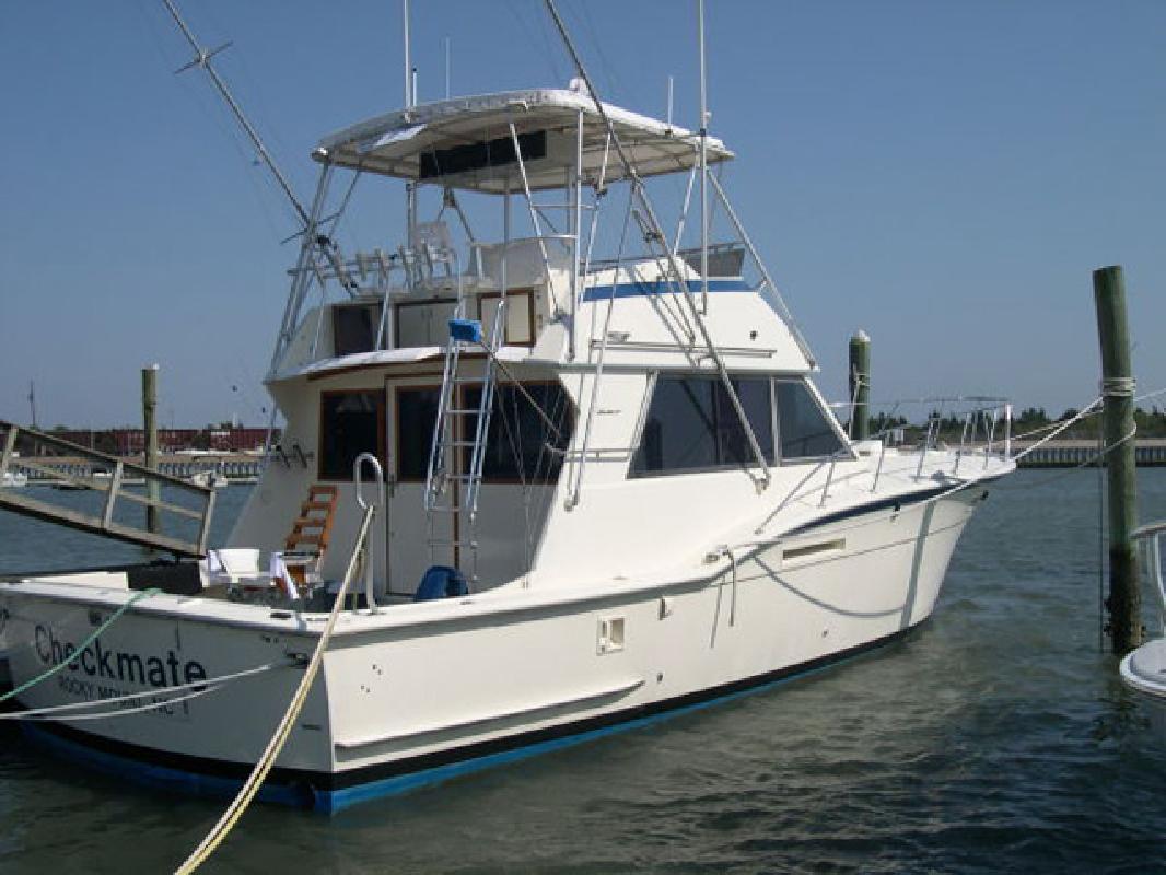 1979 46' Hatteras Yachts Convertible
