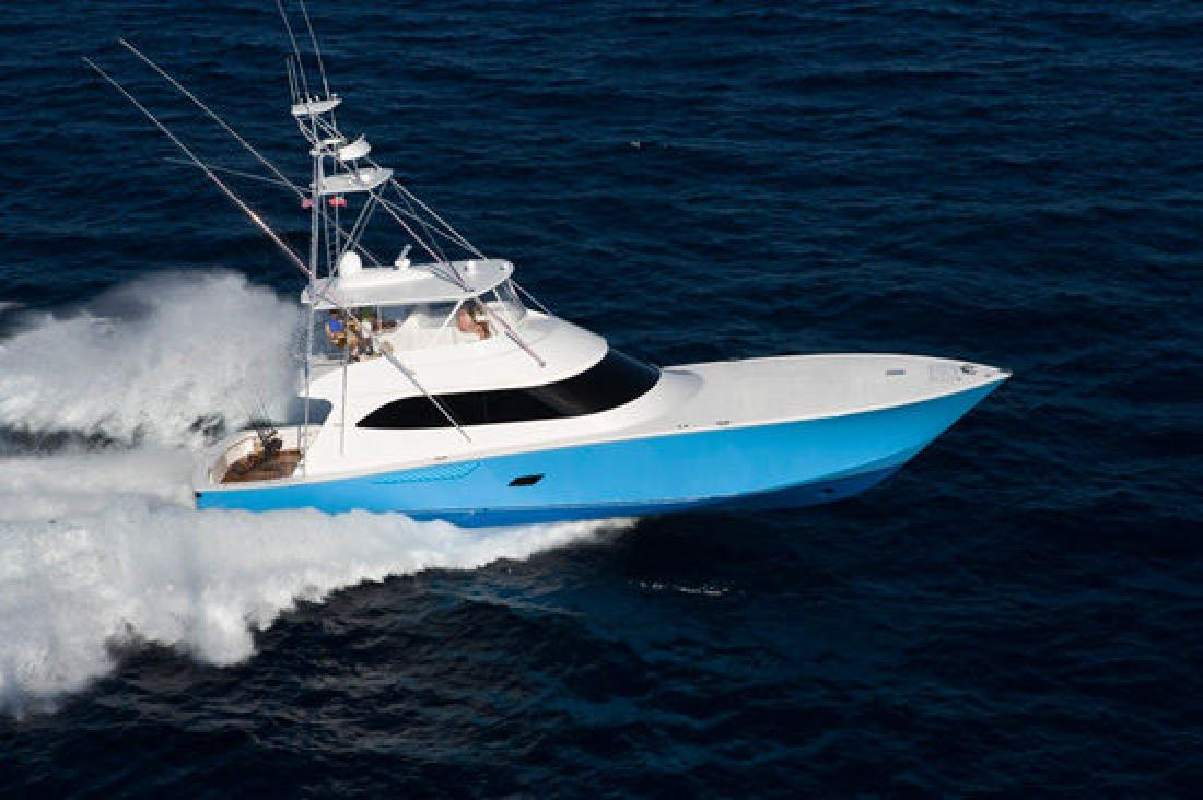 2012 76' Viking Yachts Convertible