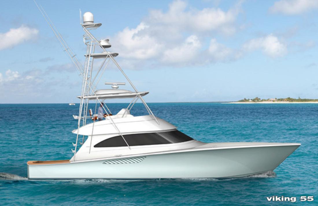 2012 55' Viking Yachts Convertible