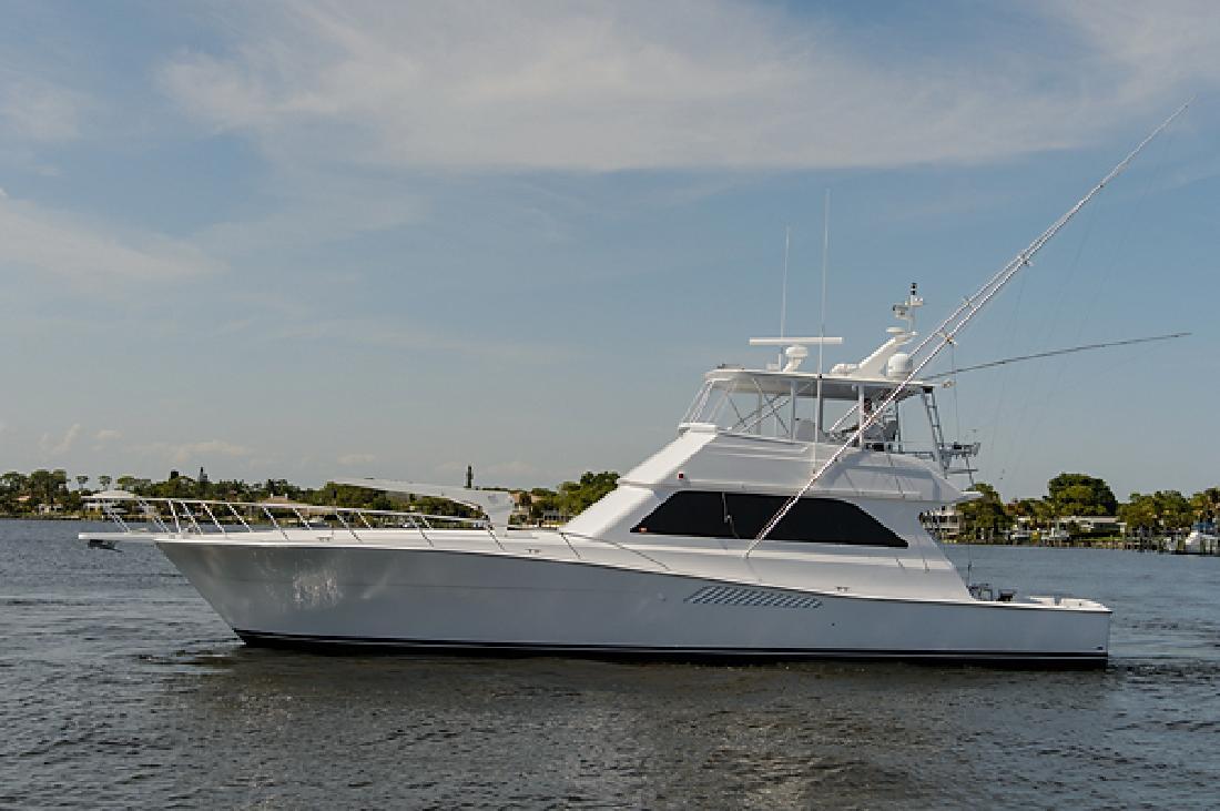 2000 58' Viking Yachts Convertible