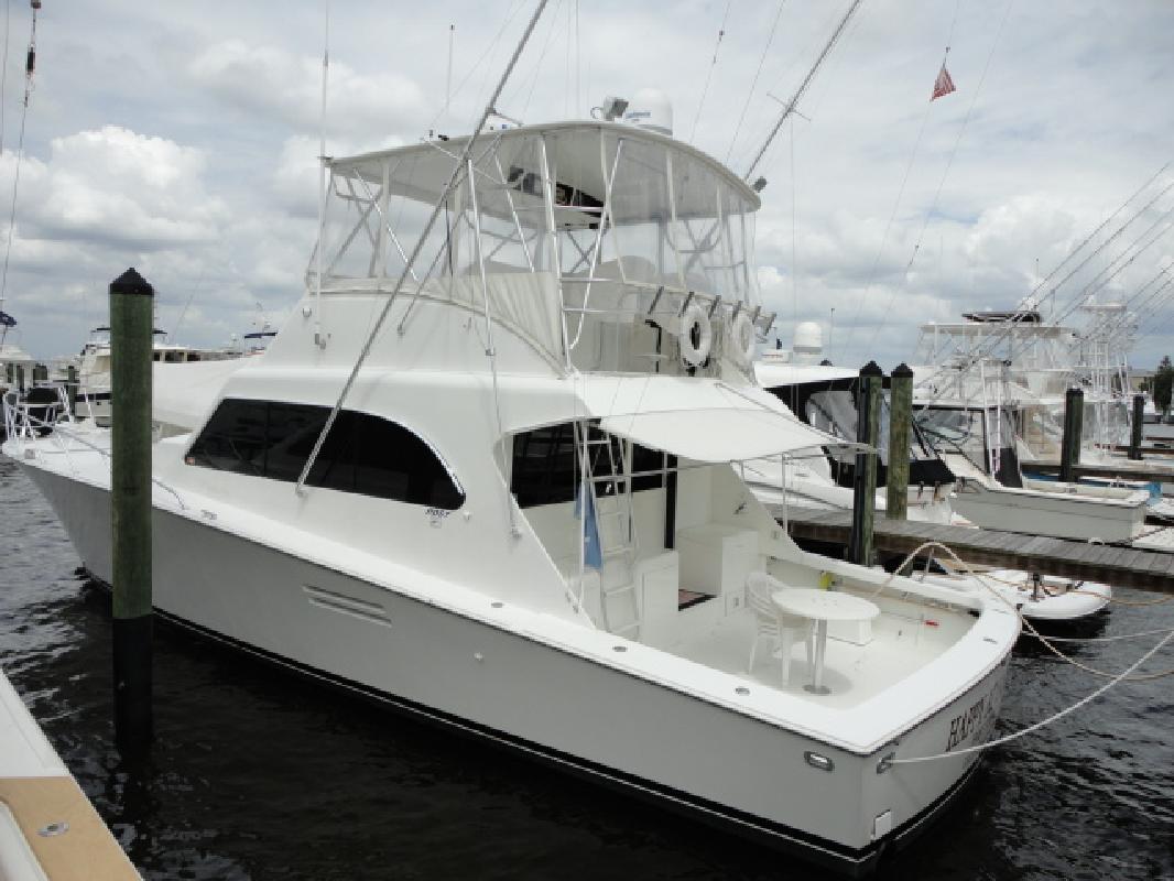 1997 50' Post Yachts Convertible