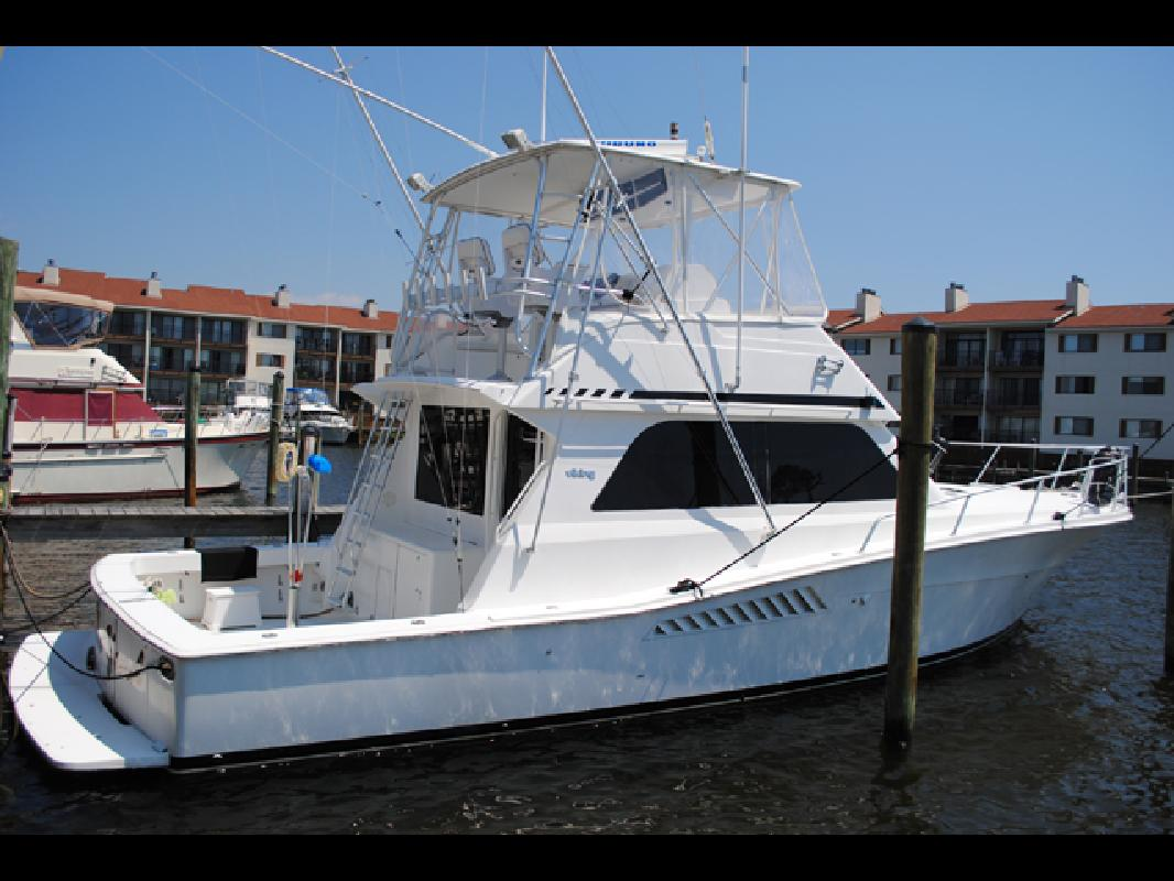 1998 43 Viking Yachts Convertible Sf For Sale In