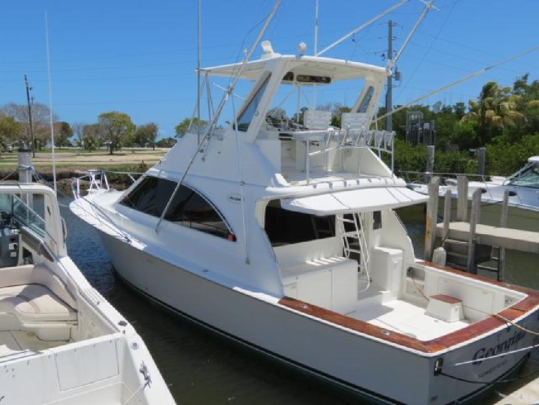 1997 45' Ocean Yachts Convertible SF