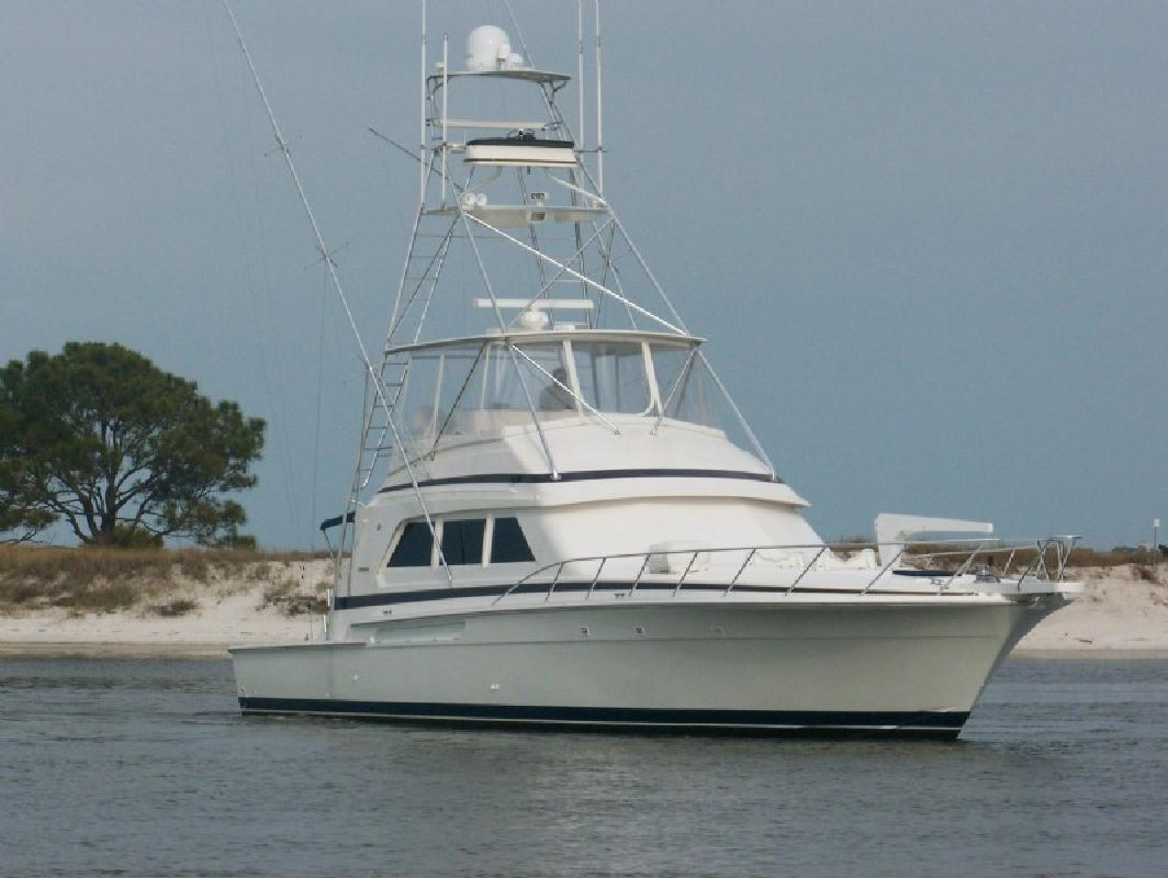 1997 60' Bertram Yachts Convertible Sportfish. Contact the seller