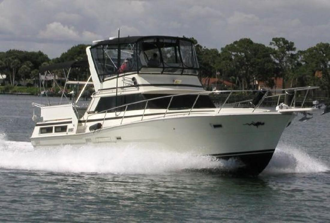 1977 43 39 viking yachts double cabin for sale in isle of for Viking 43 double cabin motor yacht