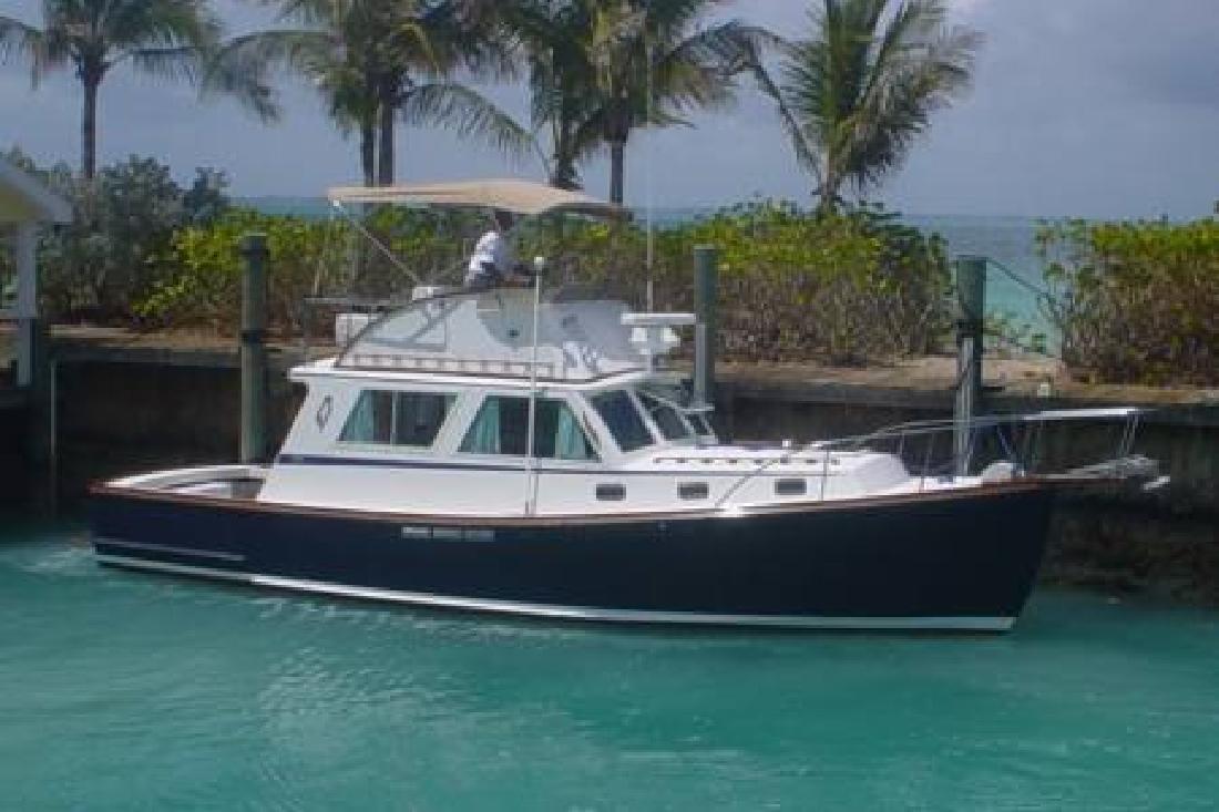 1982 34' Wilbur Yachts Down East