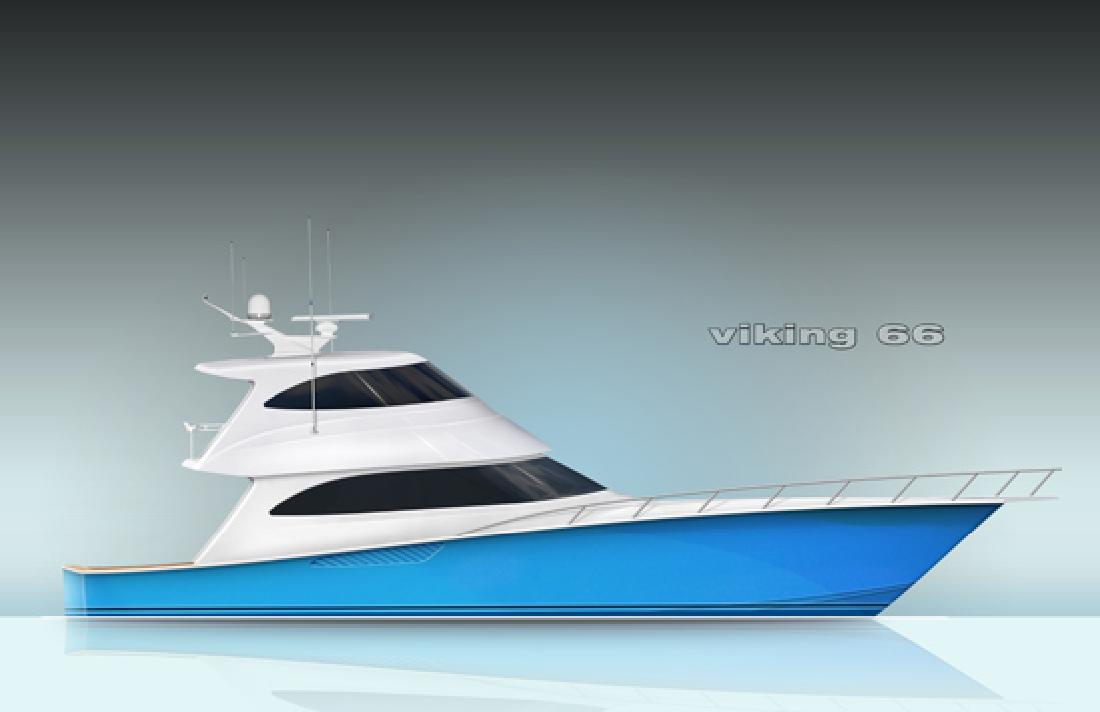 2012 66' Viking Yachts Enclosed Bridge