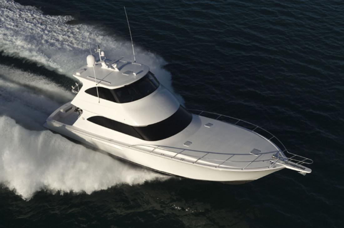 2012 60' Viking Yachts Enclosed Bridge
