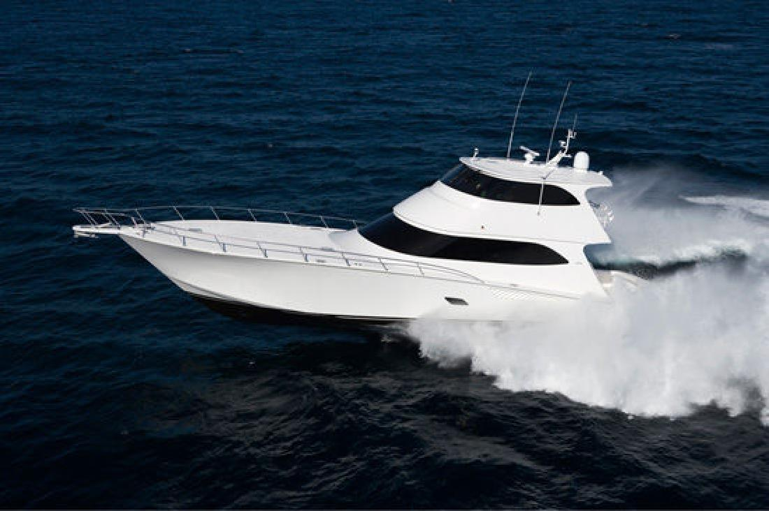 2012 76' Viking Yachts Enclosed Bridge
