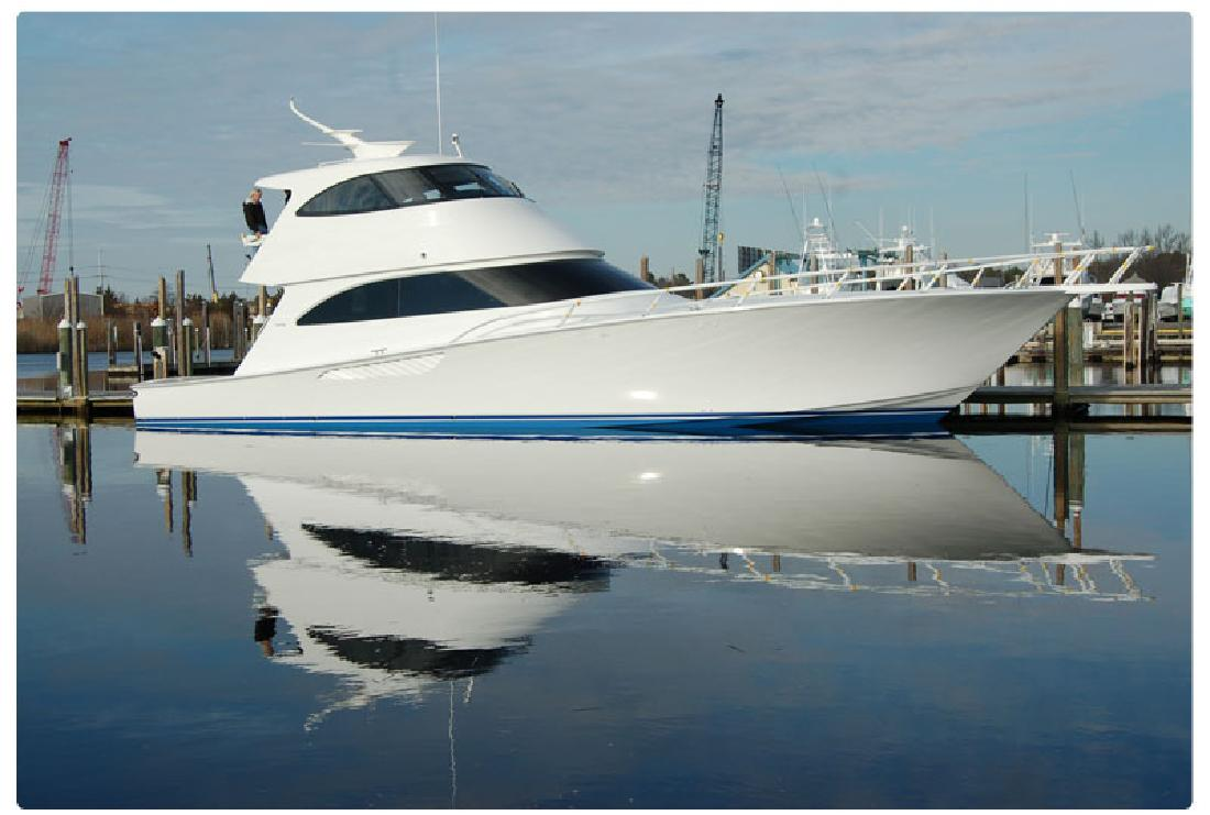 2013 66' Viking Yachts Enclosed Bridge