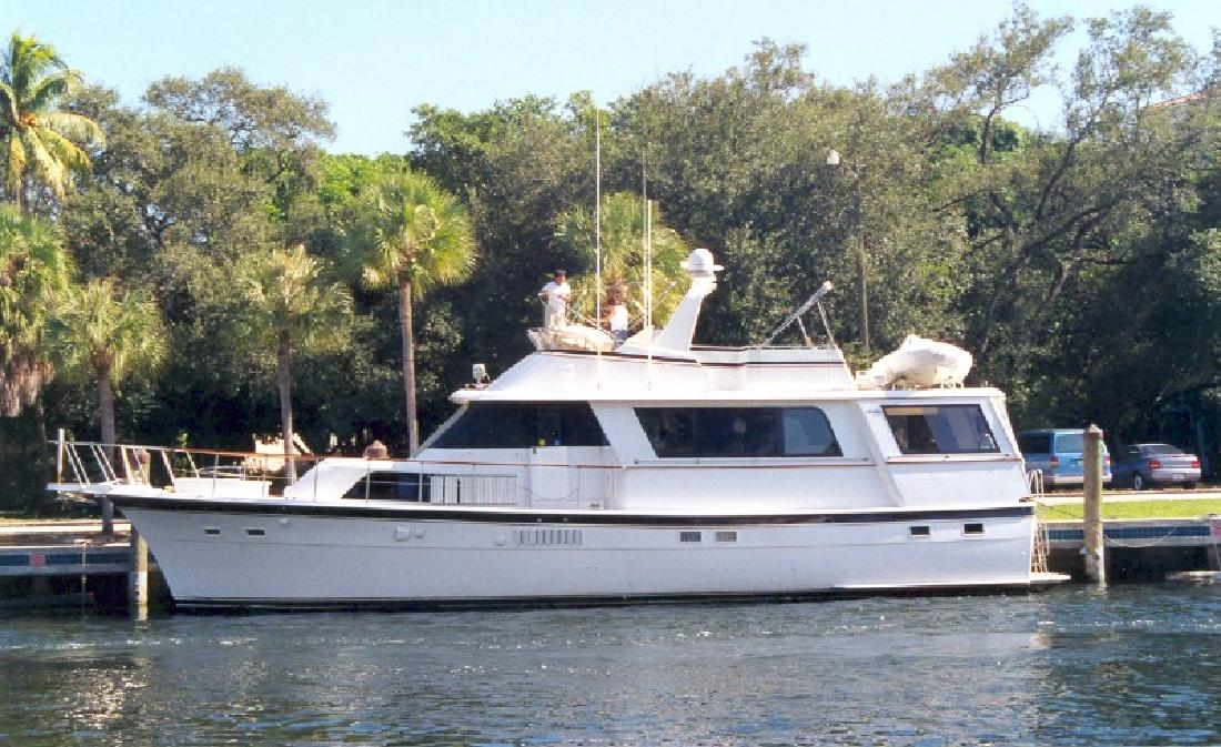 1977 58' Hatteras Yachts Galley-Up Motoryacht for sale in