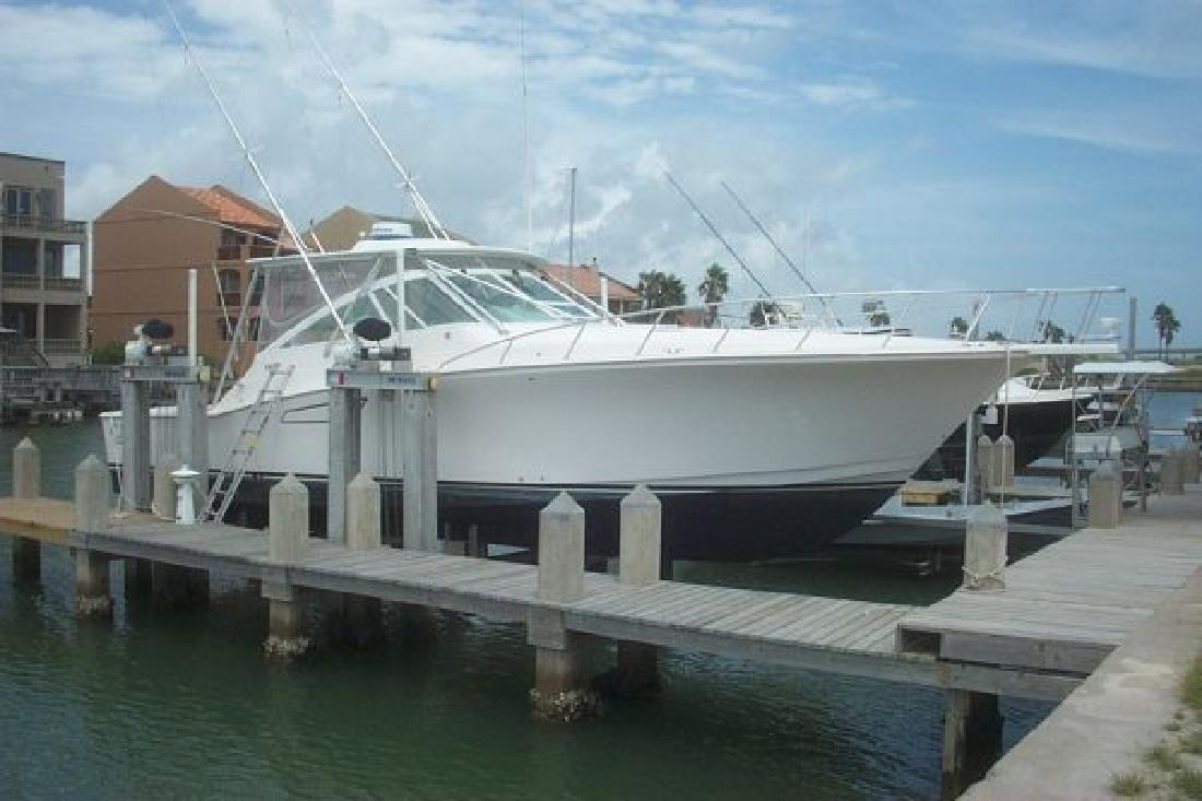 2007 45' Cabo Yachts, Inc. Express in Port Isabel, Texas