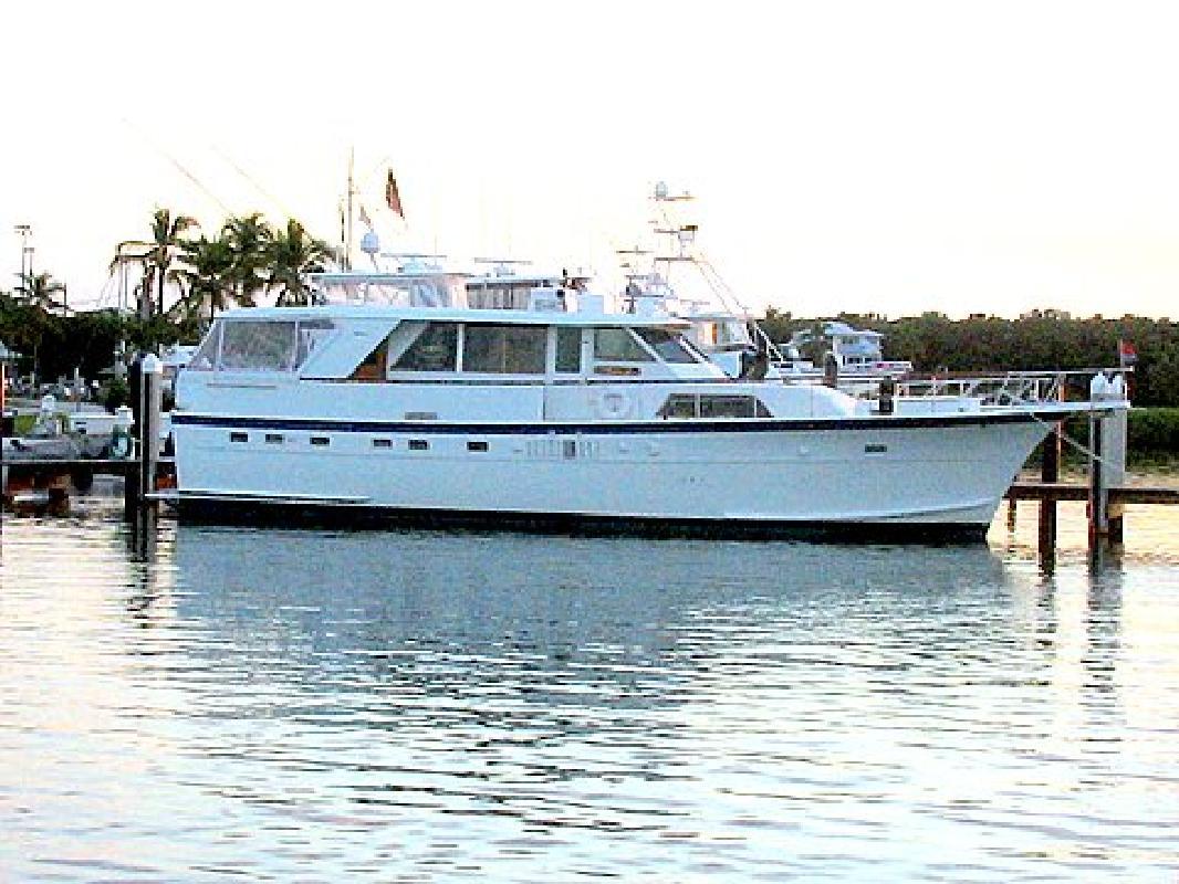1977 53 39 Hatteras Yachts Motor Yacht For Sale In Key Largo