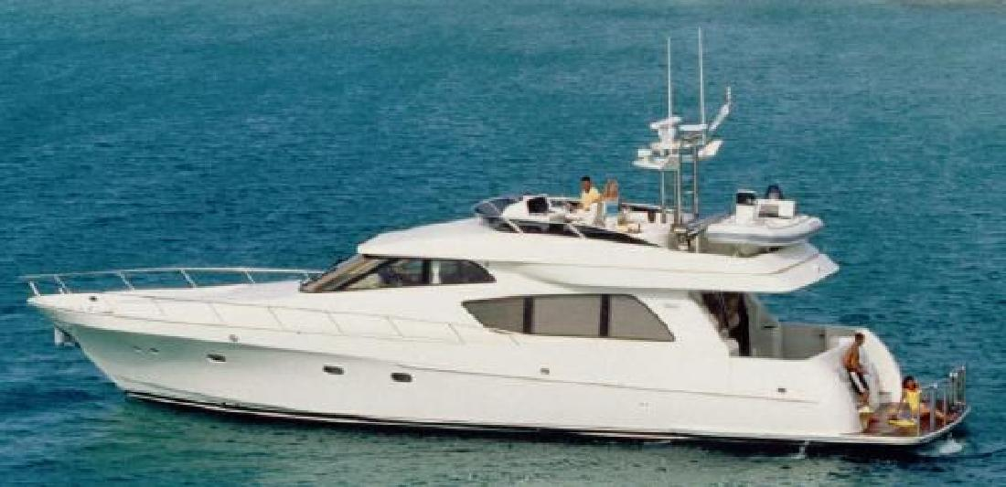 2000 65' McKinna Yachts Pilothouse