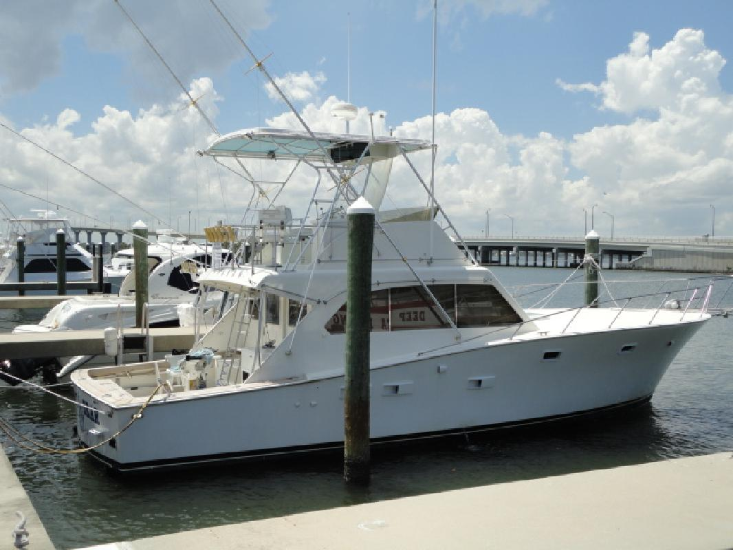 1979 42 Post Yachts Sport Fish For Sale In Stuart