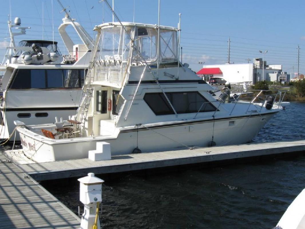1990 41' Hatteras Yachts Sportfish