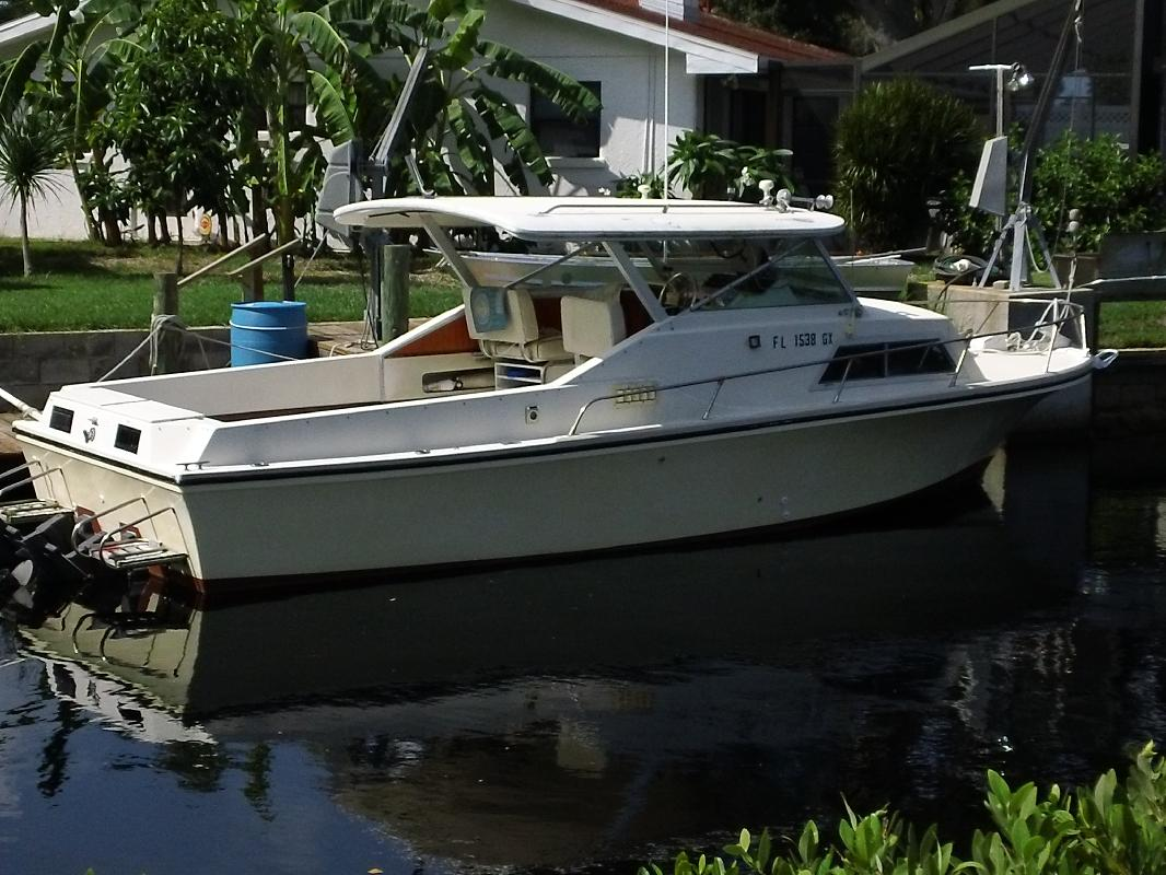 1980 27 39 stamas yachts sportfish for sale in nokomis for Best places to fish in florida without a boat