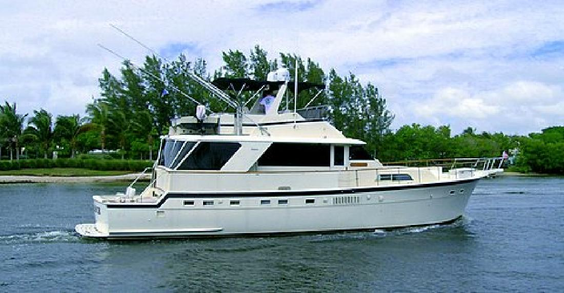 1979 58' Hatteras Yachts Yacht Fish