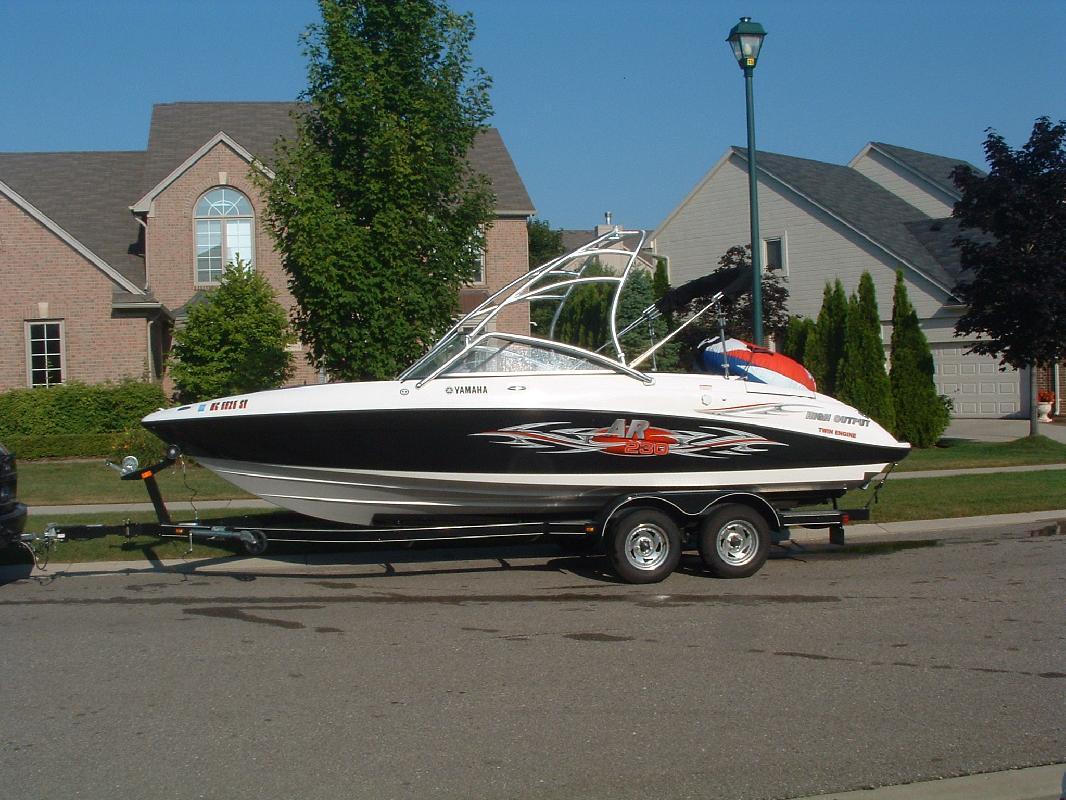 2006 23 39 yamaha ar230 for sale in harrison township for Yamaha ar230 boat cover