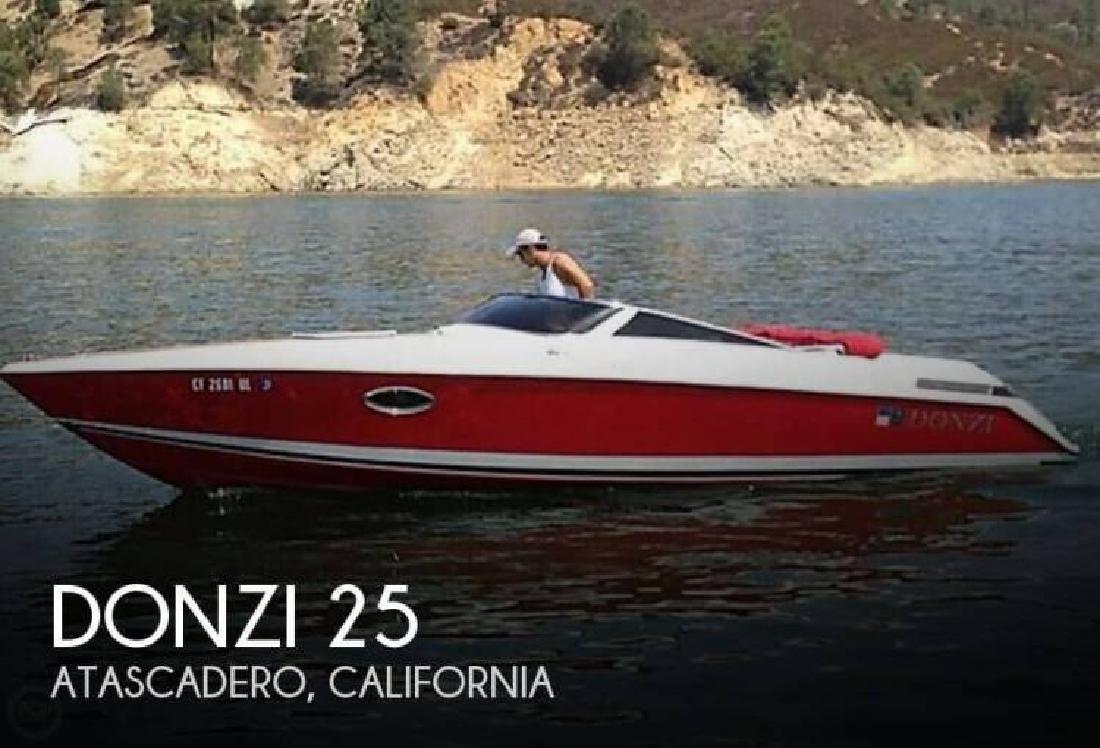 1987 Donzi Marine Z25 Atascadero CA