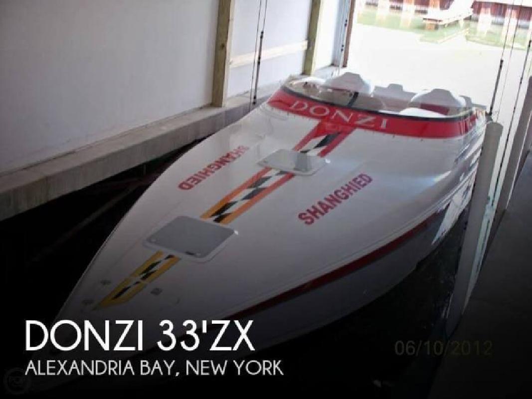 2004 Donzi Marine 33 ZX Alexandria Bay NY