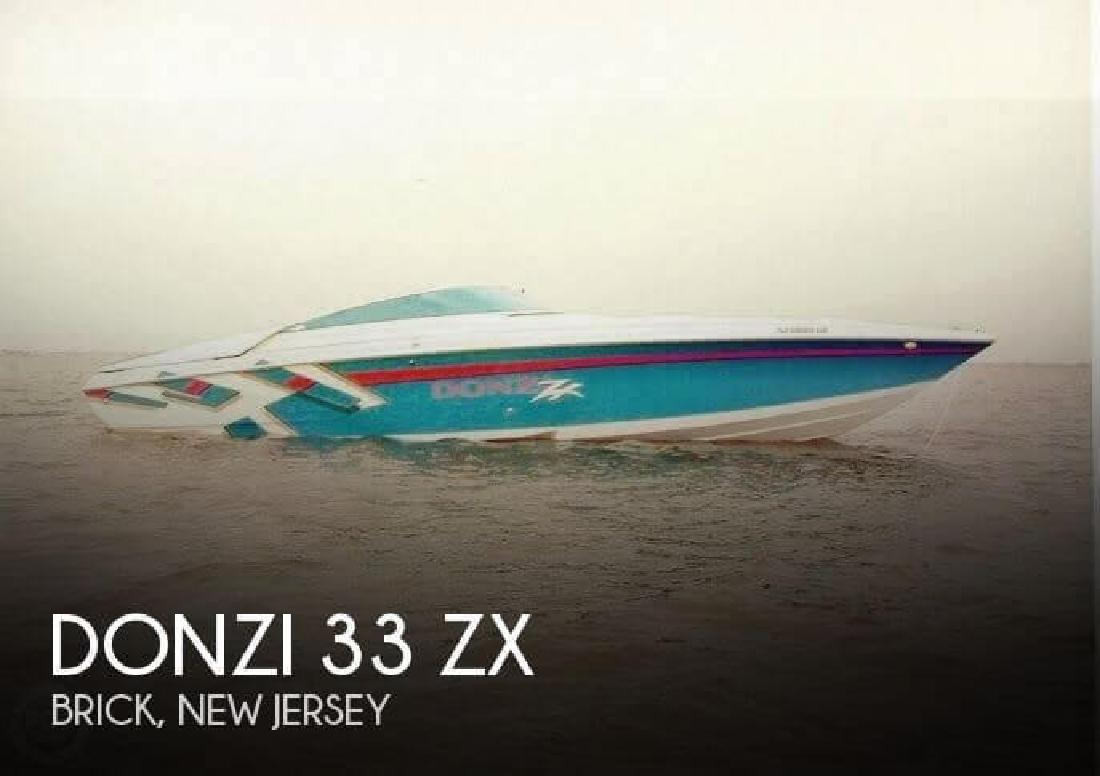 1998 Donzi Marine 33 ZX Brick NJ